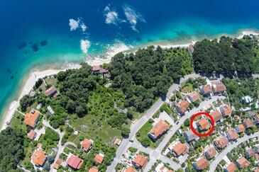 Cres, Cres, Alloggio 16178 - Appartamenti affitto con la spiaggia ghiaiosa.