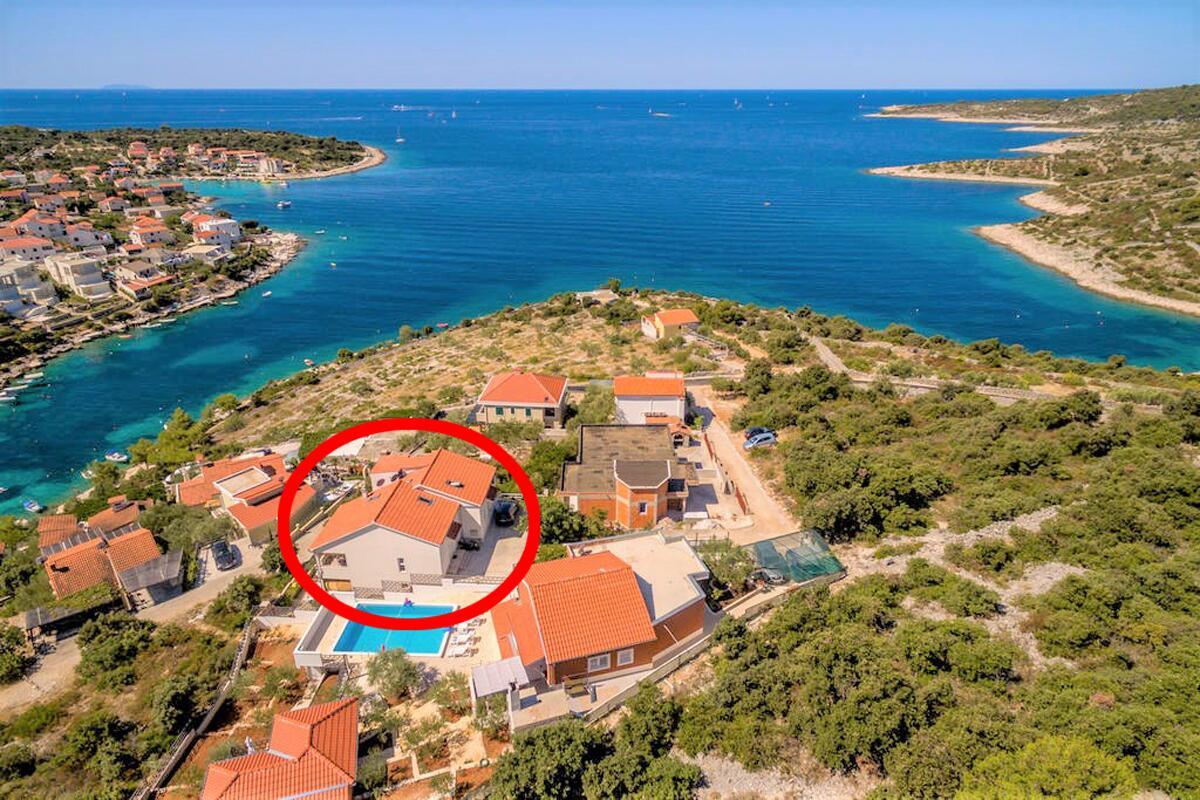 Ferienwohnung im Ort Kanica (Rogoznica), Kapazität 2+2 (2543357), Kanica, , Dalmatien, Kroatien, Bild 9
