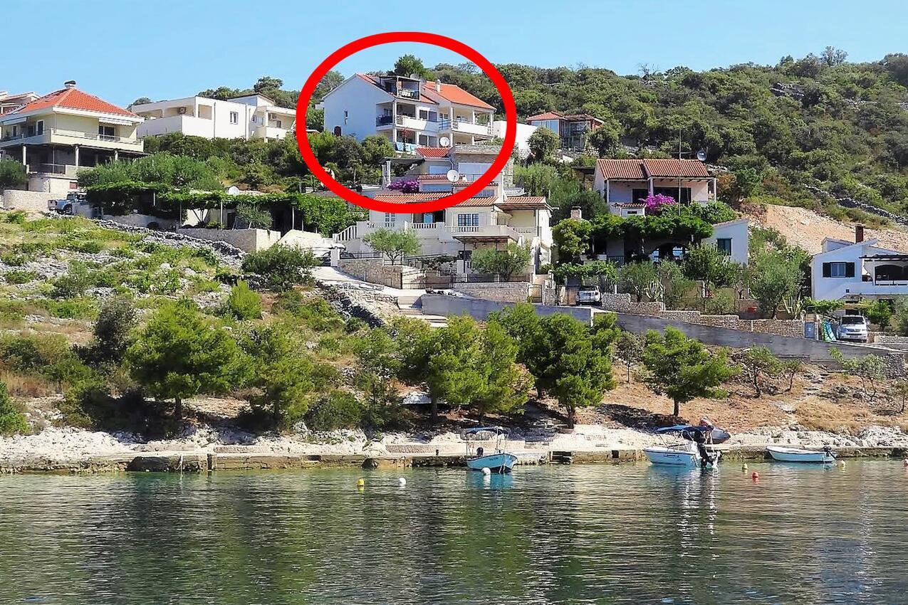 Ferienwohnung im Ort Kanica (Rogoznica), Kapazität 2+2 (2543358), Kanica, , Dalmatien, Kroatien, Bild 13