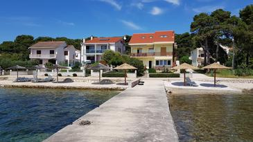 Brgulje, Molat, Property 16217 - Apartments by the sea.