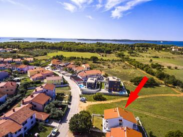 Valbandon, Fažana, Objekt 16261 - Ubytování s oblázkovou pláží.