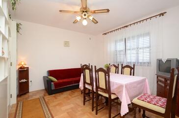 Prižba, Столовая в размещении типа apartment, Домашние животные допускаются и WiFi.