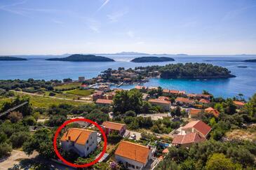 Prižba, Korčula, Объект 16268 - Апартаменты вблизи моря с галечным пляжем.
