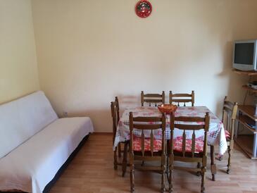 Okrug Donji, Jedáleň v ubytovacej jednotke apartment, WiFi.