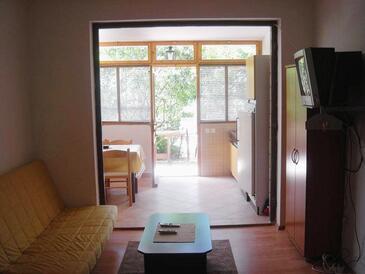 Stari Grad, Гостиная в размещении типа studio-apartment, доступный кондиционер и WiFi.