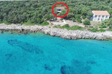 Mulobedanj, Pag, Объект 16285 - Апартаменты вблизи моря с галечным пляжем.