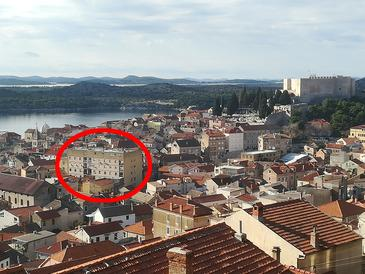 Šibenik, Šibenik, Объект 16292 - Апартаменты с галечным пляжем.