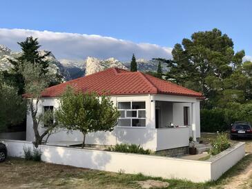 Seline, Paklenica, Объект 16318 - Дом для отдыха с галечным пляжем.