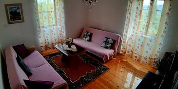 Grohote, Obývací pokoj v ubytování typu house, WiFi.