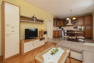 Zadar, Гостиная в размещении типа apartment, доступный кондиционер и WiFi.
