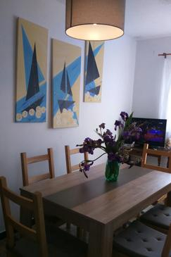 Kakma, Dining room in the apartment, (pet friendly) and WiFi.