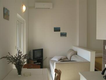 Palit, Pokój dzienny w zakwaterowaniu typu studio-apartment, Dostępna klimatyzacja i WiFi.