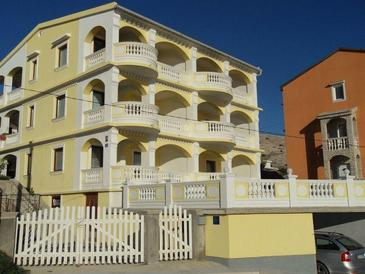 Pag, Pag, Object 16394 - Appartementen with sandy beach.