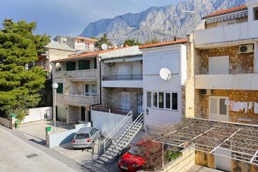 Puharići, Makarska, Objekt 16449 - Ubytování s oblázkovou pláží.