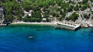 Pisak - Vrulja, Omiš, Property 16454 - Vacation Rentals near sea with pebble beach.