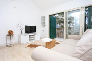 Pisak - Vrulja, Camera di soggiorno 1 nell'alloggi del tipo house, condizionatore disponibile e WiFi.