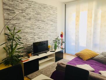 Zagreb, Гостиная в размещении типа apartment, доступный кондиционер, Домашние животные допускаются и WiFi.