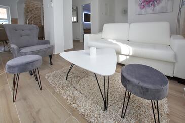 Bibinje, Camera de zi în unitate de cazare tip apartment, WiFi.