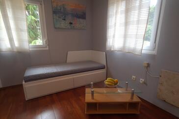 Rovinj, Obývací pokoj v ubytování typu apartment, domácí mazlíčci povoleni a WiFi.