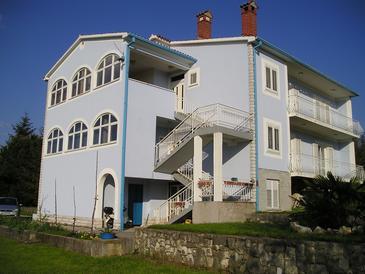 Štrmac, Labin, Obiekt 16505 - Apartamenty ze żwirową plażą.