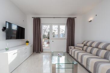 Vrsi - Mulo, Гостиная в размещении типа house, доступный кондиционер и WiFi.