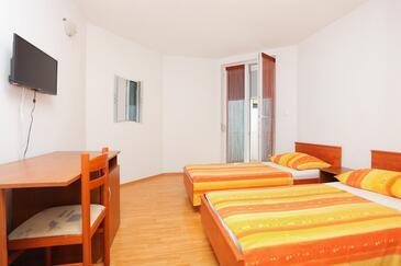 Trogir, Spálňa v ubytovacej jednotke room, WiFi.