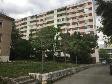 Rijeka, Rijeka, Objekt 16539 - Apartmani sa šljunčanom plažom.