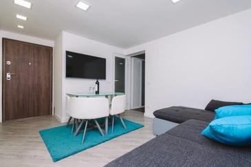 Rijeka, Living room in the apartment, WiFi.