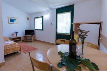 Klek, Obývací pokoj v ubytování typu apartment, domácí mazlíčci povoleni a WiFi.