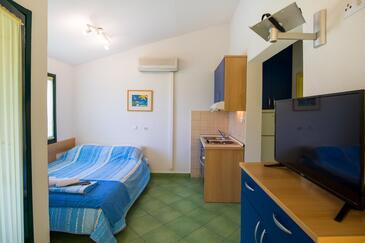 Klek, Obývací pokoj v ubytování typu apartment, s klimatizací, domácí mazlíčci povoleni a WiFi.