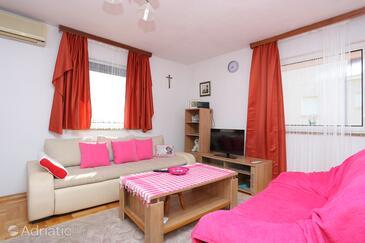 Mavarštica, Obývací pokoj v ubytování typu apartment, WiFi.
