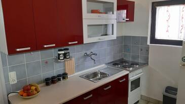 Ždrelac, Kuchyně v ubytování typu apartment, domácí mazlíčci povoleni a WiFi.