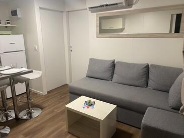 Pakoštane, Гостиная в размещении типа apartment, доступный кондиционер и WiFi.