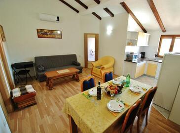 Rovinjsko Selo, Obývací pokoj v ubytování typu apartment, WiFi.