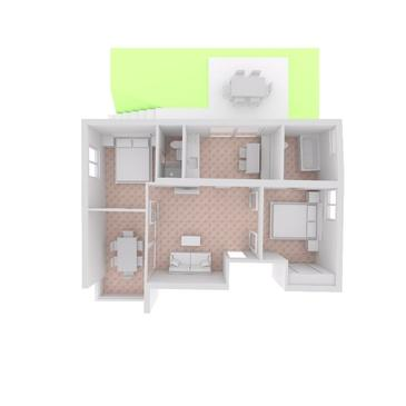 Brela, Plan in the apartment, (pet friendly) and WiFi.
