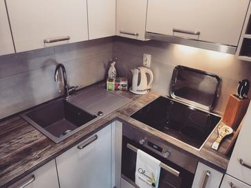 Kneža, Kitchen in the studio-apartment, WiFi.