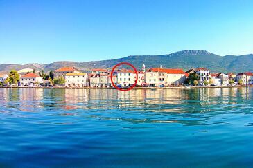 Kaštel Stari, Kaštela, Objekt 16617 - Ubytování v blízkosti moře s oblázkovou pláží.