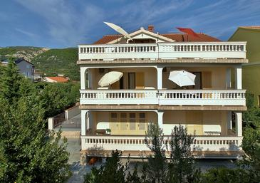 Banjol, Rab, Property 16638 - Apartments near sea with sandy beach.
