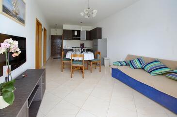 Sukošan, Гостиная в размещении типа apartment, доступный кондиционер и WiFi.