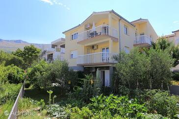 Podstrana, Split, Alloggio 16663 - Appartamenti affitto con la spiaggia ghiaiosa.