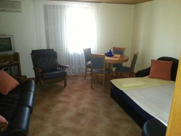 Povljana, Гостиная в размещении типа apartment, доступный кондиционер и WiFi.