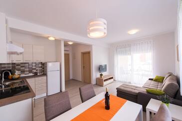 Tribunj, Гостиная в размещении типа apartment, WiFi.