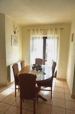 Senj, Comedor in the apartment, (pet friendly) y WiFi.