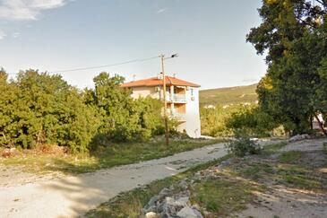 Jadranovo, Crikvenica, Objekt 16748 - Apartmani sa šljunčanom plažom.