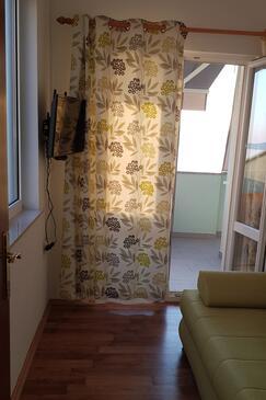 Senj, Dnevni boravak u smještaju tipa apartment, WiFi.