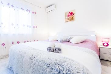 Vela Luka, Спальня в размещении типа room, доступный кондиционер и WiFi.