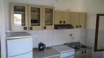 Ražanj, Kitchen in the apartment, air condition available and WiFi.