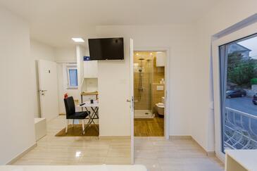 Crikvenica, Wohnzimmer in folgender Unterkunftsart studio-apartment, WiFi.