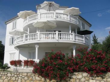 Barbat, Rab, Объект 16816 - Апартаменты с галечным пляжем.