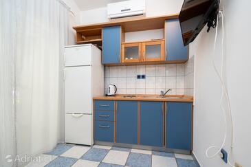 Mandre, Kuchyně v ubytování typu apartment, s klimatizací, domácí mazlíčci povoleni a WiFi.